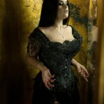 Gothic Princess Corset by Karolina Laskowska. Photography by Karolina Laskowska, modelled by Lowana of Vanyanis.