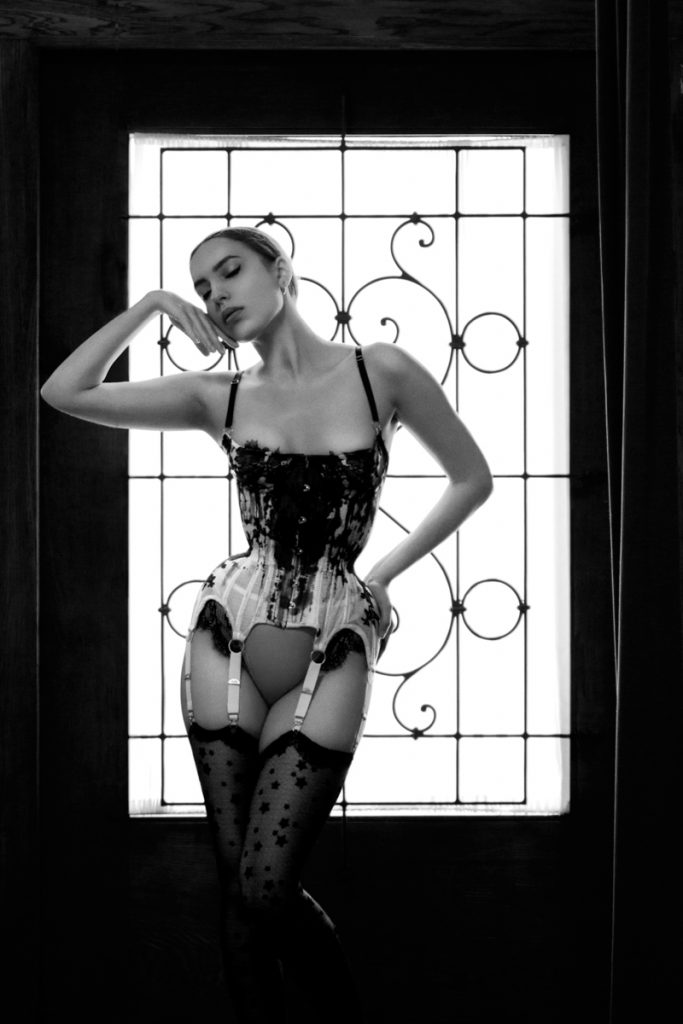 Karolina Laskowska Couture Ink corsetry Summer 2016. Photography by A. Lindseth