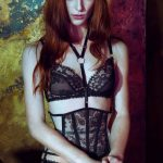 Daniela | Karolina Laskowska Lingerie. Girls That Glitter Love The Dark, photography by J Tuliniemi