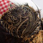 Klimt Gold Leaf Corset Dress by Karolina Laskowska.