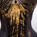 Klimt Gold Leaf Corset Dress by Karolina Laskowska.