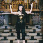 Klimt corset by Karolina Laskowska photography by Chris Murray