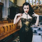 Klimt corset by Karolina Laskowska photography by Chris Murray
