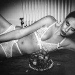 Karolina Laskowska Lingerie. Knickerbocker Glory. Photography by Simon Crinks. Modelled by Yazzmin Newell & Emma Salisbury. MUA by Violet Zeng